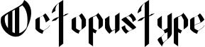 Octopustype Font