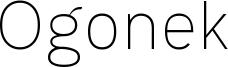Ogonek Font