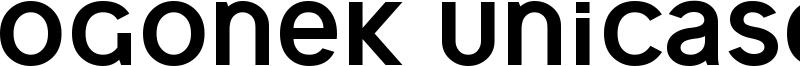 Ogonek Unicase Font