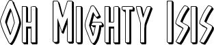 ohmightyisis3d.ttf