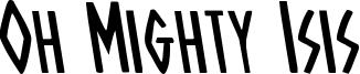 ohmightyisisleft.ttf
