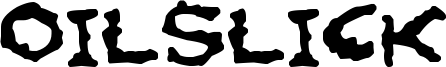 Oilslick Font