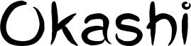 Okashi Font