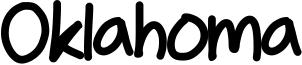 Oklahoma Font