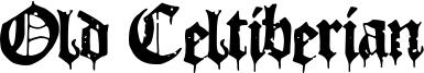 Old Celtiberian Font