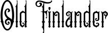 Old Finlander Font
