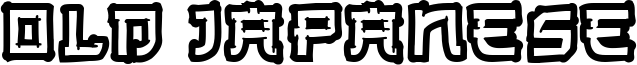 Old Japanese Font