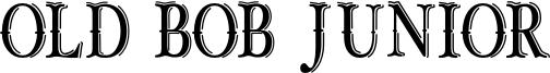 Old Bob Junior Font