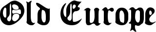 Old Europe Font