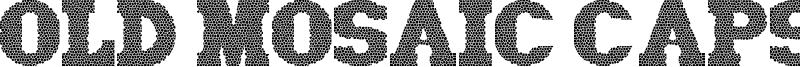 Old Mosaic Caps Font