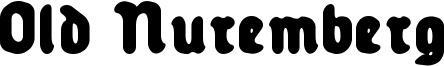 Old Nuremberg Font
