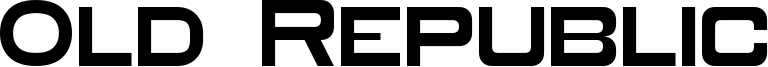 Old Republic Font