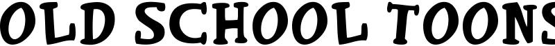Old School Toons Font