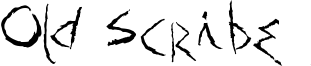 Old Scribe Font