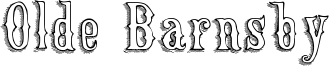 Olde Barnsby Font