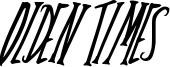 Olden Times Font
