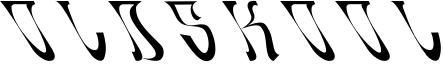 Oldskool Font