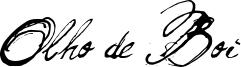 Olho de Boi Font