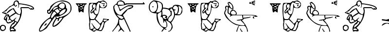 Olimpic Icons 1 Font