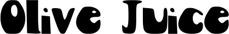 Olive Juice Font