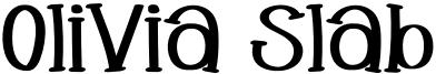 Olivia Slab Font