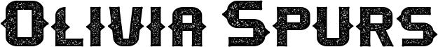 Olivia Spurs Font