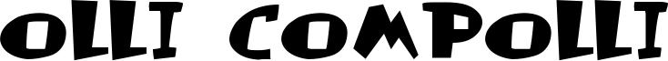 Olli Compolli Font