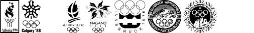 Olympiad XXX Font