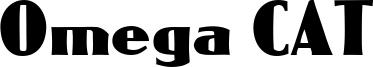 Omega CAT Font
