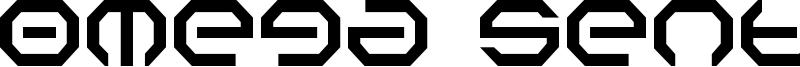 Omega Sentry Font