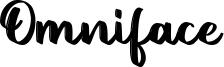 Omniface Font