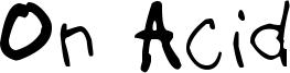 On Acid Font