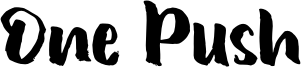 One Push Font