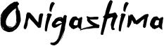 Onigashima Font