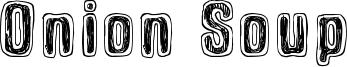 Onion Soup Font