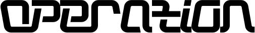 Operation Font