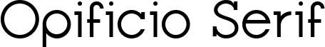 Opificio Serif Font