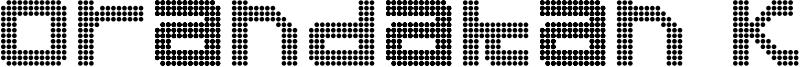 Orandakan Kana Font