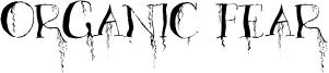 Organic Fear Font