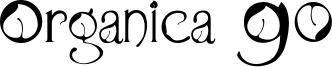 Organica 90 Font