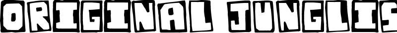 Original Junglist Font