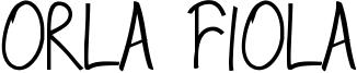 Orla Fiola Font