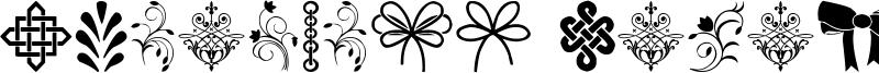 Ornaments Salad Font