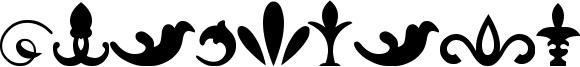 Ornaments Font