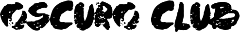 Oscuro Club Font