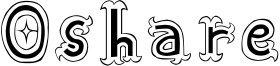 Oshare Font