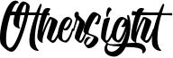 Othersight Font
