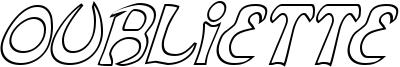 Oubliette Font
