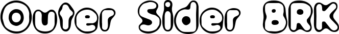 Outer Sider BRK Font
