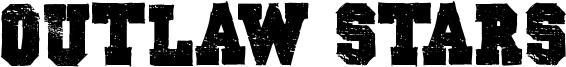 Outlaw Stars Font